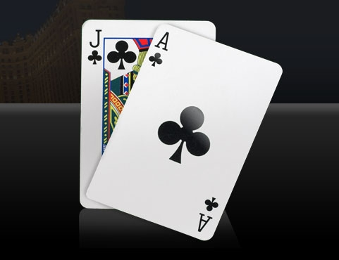 how to read blackjack card